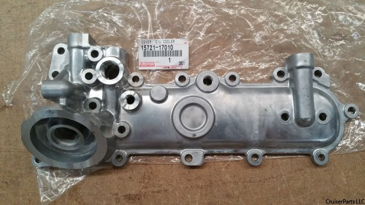 Toyota Land Cruiser, Oil Cooler, 1hz - Land Cruiser Spare Parts
